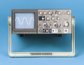 Oscilloscope, photograph ? Rapid Electronics